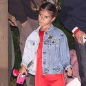 "<em><span class""exclusive"">EXCLUSIVE PHOTOS</span></em> - Penelope Disick, 6, Carries $2000 Fendi Bag To Dinner With Daddy Scott And Sofia Richie"