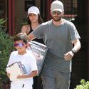 Scott And Sofia Treat His Son Mason To An Afternoon Of Toy Shopping And The Movies