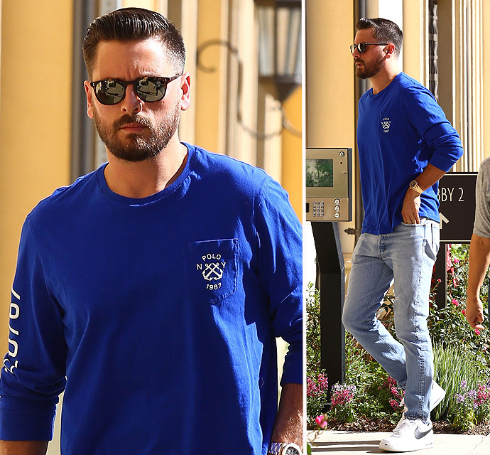 BREAKING NEWS - Scott Disick Cut His Hair!