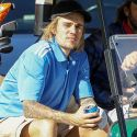 """<em><span class=""""exclusive"""">EXCLUSIVE VIDEO</span></em> - Justin Bieber Has A Mighty Impressive Golf Swing!"""