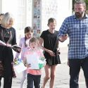 Ben Affleck Takes The Kids To Church With His Mom