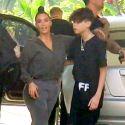 Kim Kardashian Poses For A Selfie With Pal Travis Barker's Son Landon