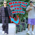 "Hailey Baldwin Wears Super-Baggy Plaid Pantsuit To Doctor's Office After Saying She's ""Closer"" To Having Babies ... Just Sayin'!!!"