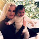 Khloe Dyes Her Hair Platinum For The Holidays