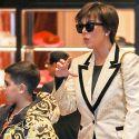 Kris Jenner Buys Grandson Mason A $3K Versace Puffer Jacket!