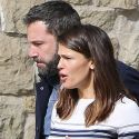 Come On, Ben Affleck's A Good Guy! Doting Dad Reunites With Jennifer Garner And The Kids At Church