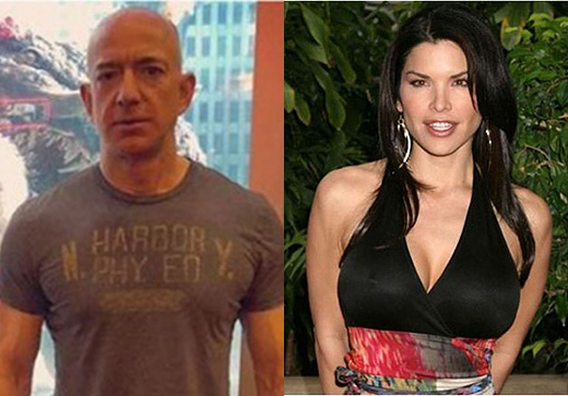 Jeff Bezos' and Lauren Sanchez's families knew about their affair before their cheating scandal went public.