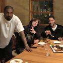 Kanye West Celebrates Kid Cudi's Birthday With Pete Davidson And Timothee Chalamet