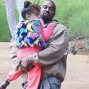 The Kardashians - And Paris Jackson! - Attend Kanye's Sunday Service
