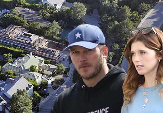 Newlyweds Chris Pratt and Katherine Schwarzenegger build a $15.5M dream home in Pacific Palisades.