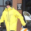 """<em><span class=""""exclusive"""">EXCLUSIVE PIX & VIDEO</span></em> - Justin Bieber Hits The Bunny Slopes On His Snowboard!"""