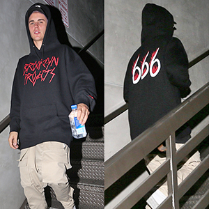 What do you think of Justin Bieber's 666 hoodie?
