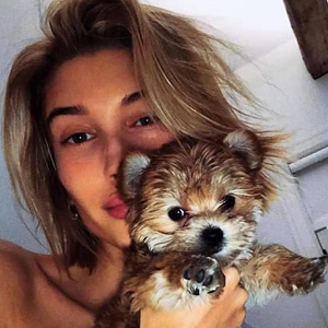 "Was Hailey Baldwin abusing her pup Oscar in the video of her ""shaking"" her little pup?"
