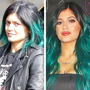 Do you think Kylie Jenner looks better au naturel or all dolled up?