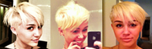 What do you think about Miley's new hair?