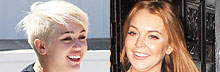 Will you vote with Miley or with Lindsay for president?