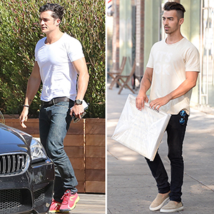 Who pulled off their tight white tee better?