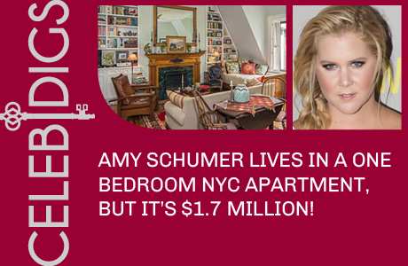Amy Schumer Lives In A $1.7 Million One Bedroom Apartment