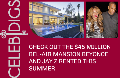 Check Out The $45 Million Bel-Air Mansion Beyonce And Jay Z Reportedly Rented