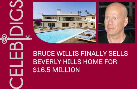 Bruce Willis Sells Massive Beverly Hills Mansion For $16.5 Million
