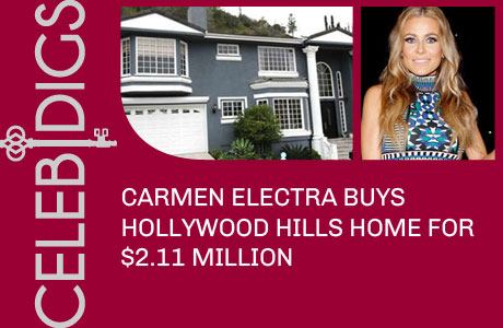 Carmen Electra Buys Hollywood Hills Home For $2.11 Million