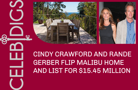 Cindy Crawford And Husband Rande Gerber Flip Malibu Pad And List It For $15.45 Million