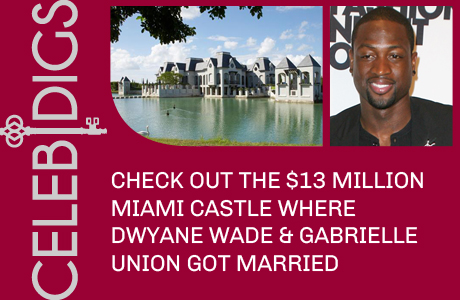 Check Out The $13 Million Miami Castle Where Dwyane Wade And Gabrielle Union Got Married