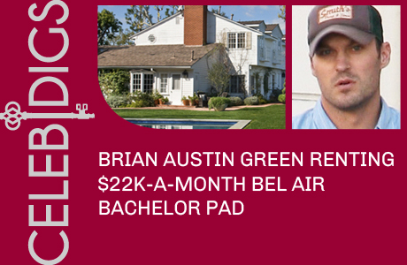 Brian Austin Green Renting $22K A Month Bel Air Bachelor Pad