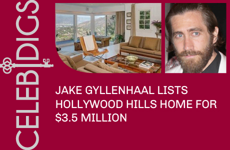 Jake Gyllenhaal Lists Hollywood Hills Home For $3.5 Million