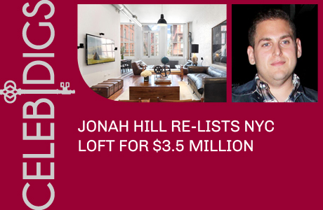 Jonah Hill Re-Lists SoHo Loft For $3.5 Million