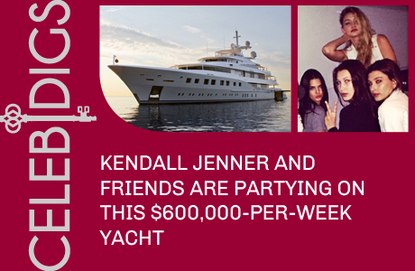 Check Out The $600,000-Per-Week Yacht Kendall Jenner And Pals Are Partying On In Monaco