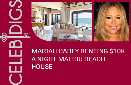 Mariah Carey Renting $10K A Night Malibu Beach House