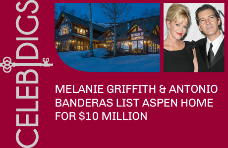Melanie Griffith And Antonio Banderas List Aspen Home For $9.9 Million