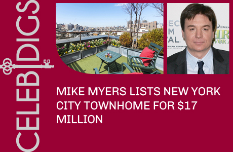 Mike Myers Lists New York Townhome For A Whopping $17 Million