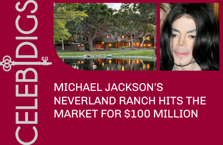Michael Jackson's Neverland Ranch Listed For $100 Million