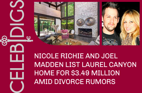 Nicole Richie And Joel Madden List Laurel Canyon Home For $3.49 Million