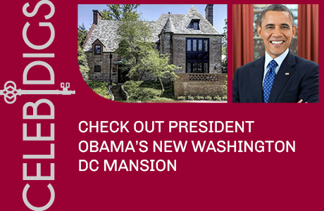 President Obama's New Washington DC Mansion
