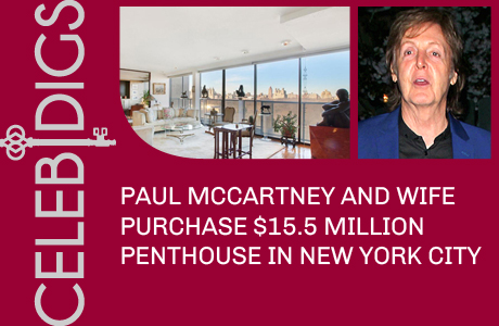 Paul McCartney Buys $15.5 Million New York City Penthouse