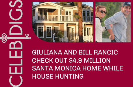 Giuliana And Bill Rancic Check Out $4.9 Million Santa Monica Home While House Hunting