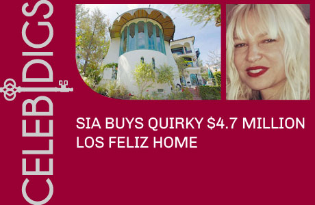 Sia Buys Quirky $4.7 Million Los Feliz Home