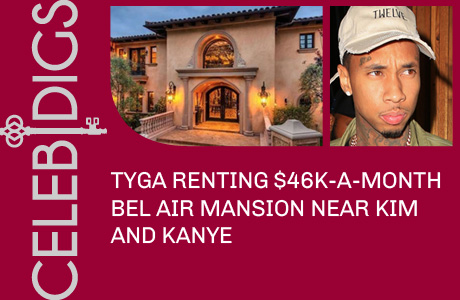 Tyga Renting $46K-A-Month Bel Air Mansion Near Kim And Kanye