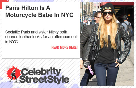 Paris And Nicky Hilton Are Leather-Wearing Ladies In NYC