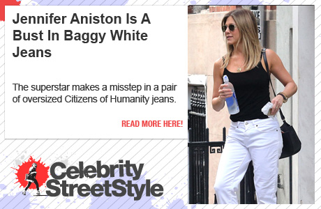 Jennifer Aniston's Baggy Jeans Are A Bust