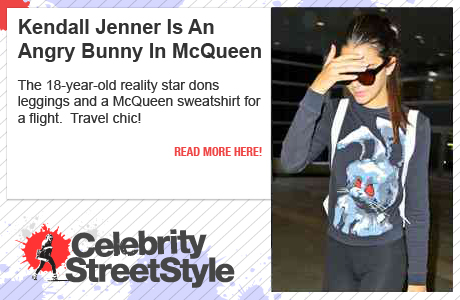 Kendall Jenner Is An Angry Bunny In McQueen