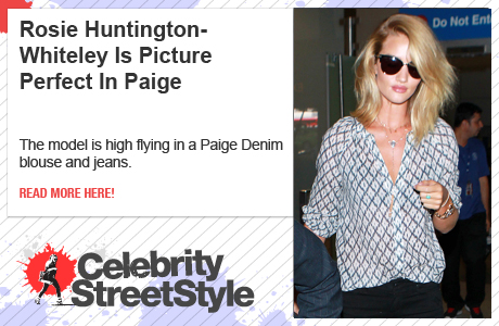 Rosie Huntington-Whiteley Is On Point In Paige