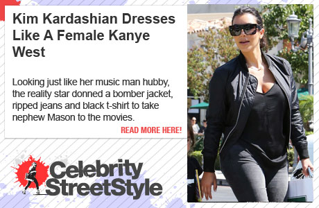 Kim Kardashian Dresses Like A Female Kanye West