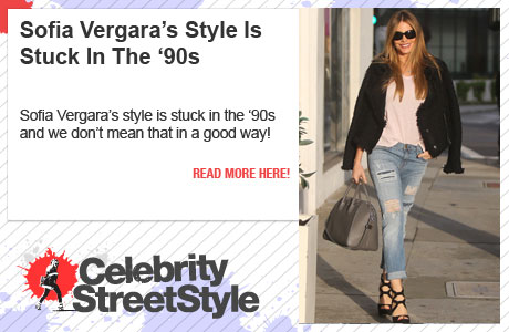 Sofia Vergara's Style Is Trapped In The '90s