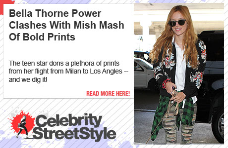 Bella Thorne Power Clashes Upon Returning From Milan Fashion Week