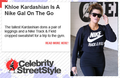 Khloe Kardashian Is A Nike Gal On The Go