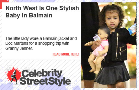 North West Is One Stylish Baby In Balmain And Doc Martens